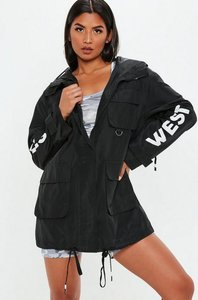 Read more about Black west hills slogan parka black