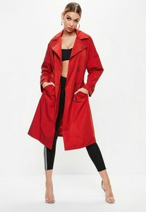 Read more about Red oversized classic trench coat red