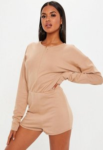 Read more about Camel loopback playsuit beige