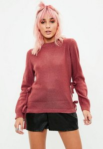 Read more about Red knitted sweater red