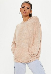 Read more about Camel brushed hoodie beige
