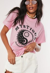 Read more about Pink mystique graphic t shirt pink