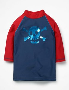Read more about Logo rash vest blue boys boden blue