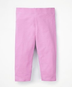 Read more about Plain cropped leggings pink girls boden pink