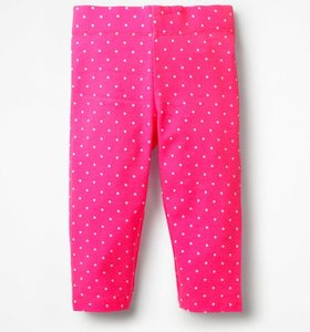Read more about Stripe spot cropped leggings pink girls boden pink