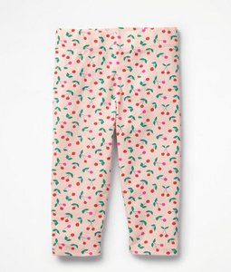 Read more about Fun cropped leggings pink girls boden pink