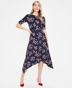 Read more about Leonie ponte midi dress navy women boden navy