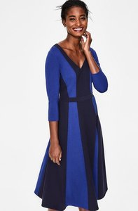 Read more about Erin ponte midi dress navy women boden navy