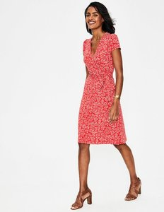 Read more about Summer wrap dress red women boden red