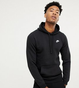 Nike Pullover Hoodie In Black With Small Futura Logo   ASOS