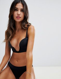 missguided ultimate plunge swimsuit black Shop missguided