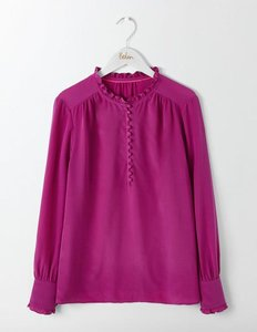 Read more about Ella silk blouse purple women boden purple