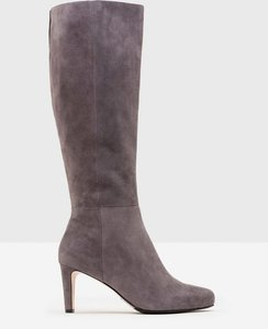 Read more about Knee-high suede boots grey women boden grey