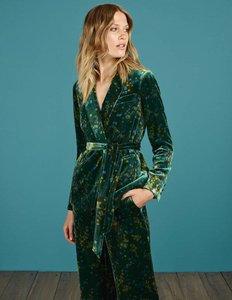 Read more about Roberta velvet jacket green women boden green