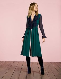 Read more about Winifred midi dress green women boden green