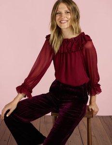 Read more about Zooey blouse purple women boden purple