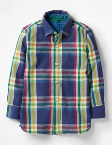 Read more about Double cloth shirt navy boys boden navy