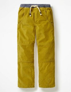 Read more about Lined cord pull-on trousers yellow boys boden yellow