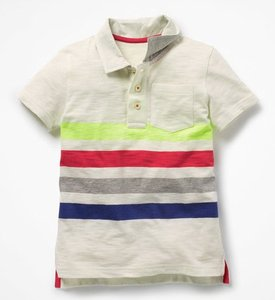 Read more about Slub jersey polo shirt multi boys boden multi