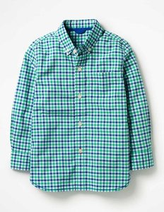 Read more about Laundered shirt green boys boden green