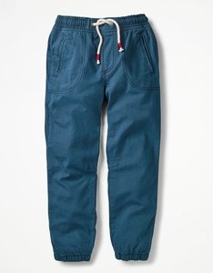 Read more about Lined woven joggers blue boys boden blue