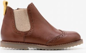 Read more about Leather chelsea boots brown girls boden brown