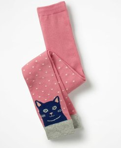 Read more about Patterned footless tights pink girls boden pink