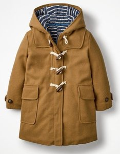 Read more about Duffle coat brown girls boden brown