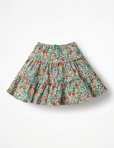 Read more about Twirly frilly skirt multi girls boden multi
