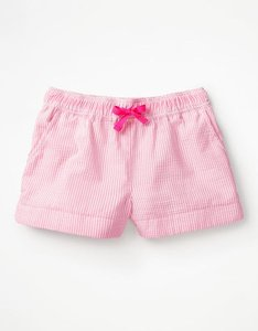 Read more about Heart pocket shorts pink girls boden pink