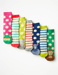 Read more about 7 pack sock box blue girls boden blue
