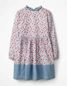 Read more about Printed woven dress multi girls boden multi