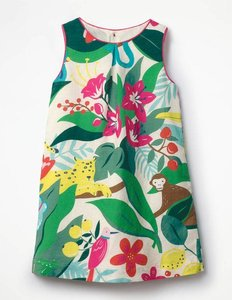 Read more about Printed shift dress multi girls boden multi