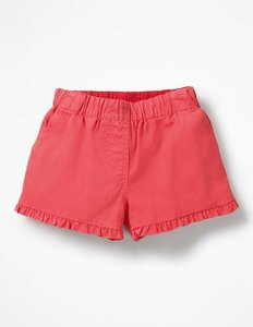 Read more about Frill detail shorts pink girls boden pink
