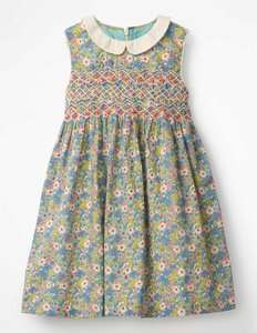 Read more about Nostalgic smock dress multi girls boden multi