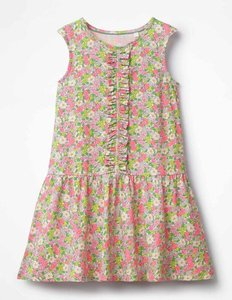 Read more about Jersey ruffle dress multi girls boden multi