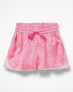 Read more about Hotchpotch woven shorts pink girls boden pink