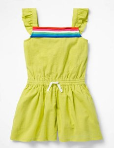 Read more about Pretty culotte playsuit yellow girls boden yellow