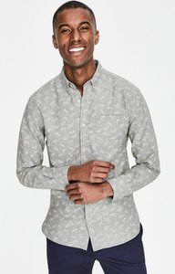 Read more about Oxford shirt grey men boden grey