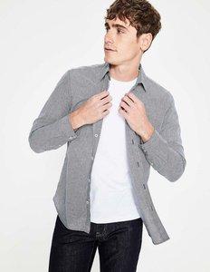 Read more about Linen cotton pattern shirt navy men boden navy