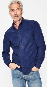 Read more about Slim fit casual poplin shirt navy men boden navy
