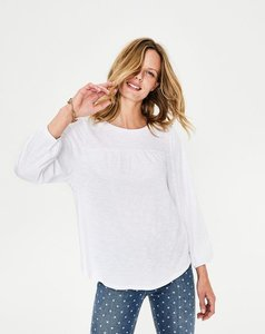 Read more about Freya jersey top white women boden white