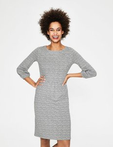 Read more about Odelia jersey dress grey women boden grey