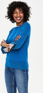 Read more about Tilda crew neck jumper blue women boden blue