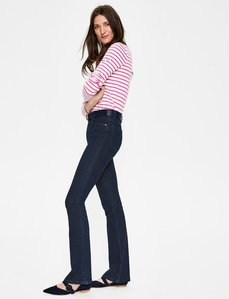 Read more about Marylebone slim bootcut jeans blue women boden blue