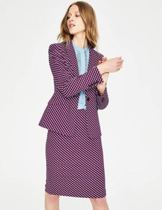 Read more about Nell ponte blazer red women boden red