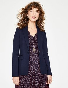 Read more about Nell ponte blazer navy women boden navy