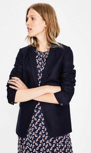 Read more about Winchester tweed blazer navy women boden navy