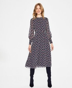 Read more about Alba midi dress navy women boden navy
