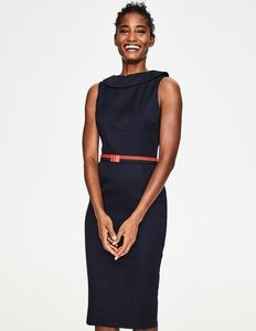 Read more about Seam detail martha dress navy women boden navy